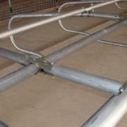 Шарниры (узлы крепления стойлового оборудования) фото