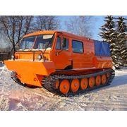 Легкий гусеничный грузовой снегоболотоход ТТМ-3 ГР (3 т., 6 чел.) фото
