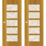 Витражи для межкомнатных дверей DG-124 фото