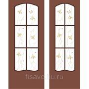Витражи для межкомнатных дверей DG-159 фото