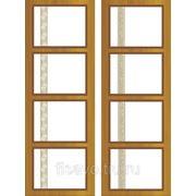 Витражи для межкомнатных дверей DG-167 фото
