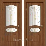 Витражи для межкомнатных дверей DG-173 фото
