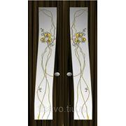 Витражи для межкомнатных дверей DG-257 фото