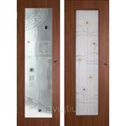 Витражи для межкомнатных дверей DP-30 фото