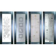 Витражи для межкомнатных дверей DP-33 фото
