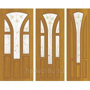 Витражи для межкомнатных дверей DG-214 фото