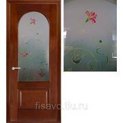 Витражи для межкомнатных дверей DG-43 фото