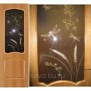 Витражи для межкомнатных дверей DG-77 фото