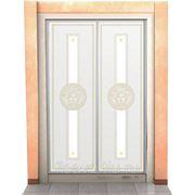 Витражи для межкомнатных дверей DG-76 фото