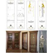 Витражи для межкомнатных дверей DG-97 фото
