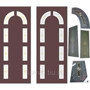 Витражи для межкомнатных дверей DG-109 фото
