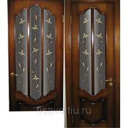 Витражи для межкомнатных дверей DG-111 фото