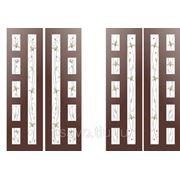 Витражи для межкомнатных дверей DG-102 фото