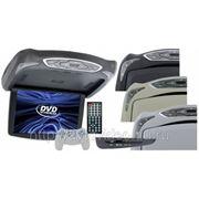 "Потолочный монитор JS-1310 DVD 13.3"", DVD, TV, USB, SD фото"
