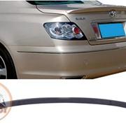 Спойлер Toyota Mark X 2005-2010 черный фото