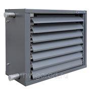 Двухрядный тепловентилятор водяной КЭВ-106Т4,5W2 (длина струи 19,5м размеры 855 x 450 x 750) фото