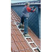 Лестницы специальные Krause Лестница для крышы из алюминия 8 перекладин 804303 фото