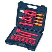 Набор инструментов для электриков Knipex Чемодан компактный, 17предметов;с инструментами электроизолированными 989911 фото