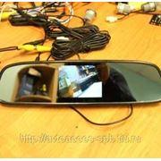 "Зеркало RMBT-735 со встроенным монитором 3,5"" фото"