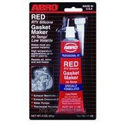 Силиконовый герметик-прокладка ABRO RED красный высокотемпературный 85 g фото