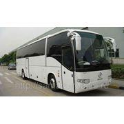 Туристический автобус Higer KLQ6129Q, со спальным местом водителя. фото