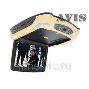 """Автомобильный потолочный монитор 10.2"""" со встроенным DVD плеером AVIS AVS1019T (бежевый) фото"""