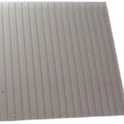 Поликарбонат сотовый 12000х2100х8 серый фото