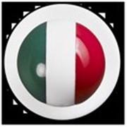 Пукли Флаг Италии пласт. 1уп=12пуклей GREIFF фото