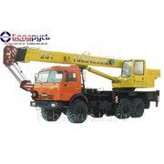 автокран полноприводный кран грузоподъемностью 25 тонн КС-55713-5 Галичанин на шасси КАМАЗ 6х6 43118 фото