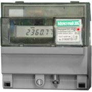 Однофазный однотарифный электросчётчик Меркурий 201 фото