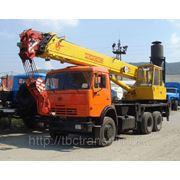 Автокран Ивановец 25 тонн. фото