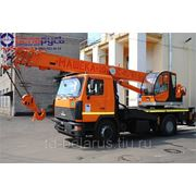 автокран кран грузоподъемностью 20 тонн на шасси маз-5340В2 Машека КС-4571BY-8 фото