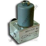 Пневмораспределитель ПР 2-3 24В (электропневмовентиль) КС-3574, КС-3577, КС-35714, КС-35715, КС-45717 фото