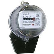 Счетчики электрические однофазные Барс-1.111 фото