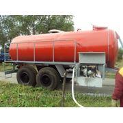 Ёмкость для транспортировки жидкости 11м3 фото