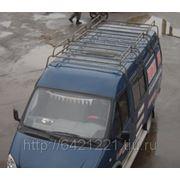 Багажник экспедиционный на ГАЗ-2705 3 секции фото