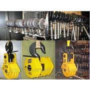 Крановая подвеска, подвеска крюковая, обойма крюковая, грузозахватные приспособления, крюки крановые фото