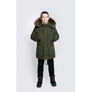 Куртка пуховая для мальчика АЗ16/14-226