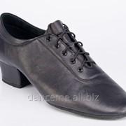 Galex Обувь мужская для латины Галекс-элегант, черный кожа фото