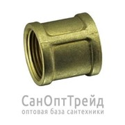 "Муфта переходная 1-1/4""х1/2"" ВР/ВР латунь ТiМ"