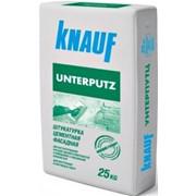 """Штукатурка цементная фасадная Унтерпутц УП 210 """"Кнауф"""" 25 кг."""