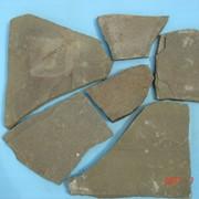 Песчаник неокантованный cерый 1,5-2см фото