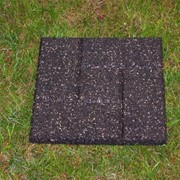 Тротуарная плитка из резиновой крошки фото