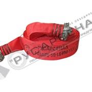 Рукав пожарный напорный для пожарной техники РПМ(П)-50-1,6-ИМ-УХЛ1 Типа Латекс в сборе с ГР-50 и стволом РС-50.01 фото