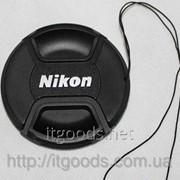 Крышка для объектива Nikon LC-52 52 мм (аналог) D7000 D5100 D5200 D3100 D3200 18-55mm 1321 фото
