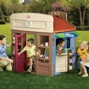 Детская уличная мебель фото