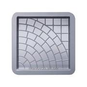 Формы для тротуарной плитки колодец 30х30х3см фото