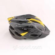 Шлем защитный Желтый фото
