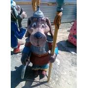 Скульптура животных из бетона фото