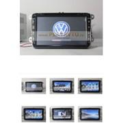 Штатное устройство Volkswagen Golf,Jetta,Passat,Tiguan, 8 дюймов! фото